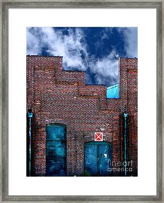 This Property Is Condemned Framed Print by Colleen Kammerer