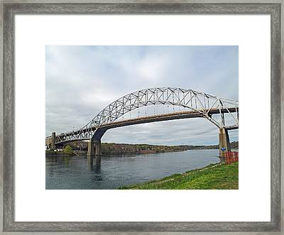 This Way To The Cape Framed Print by Barbara McDevitt