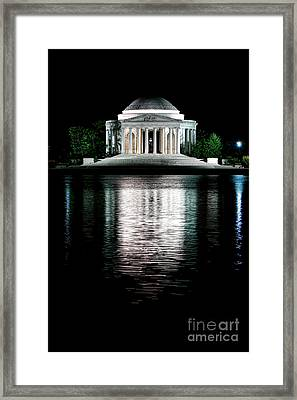 Thomas Jefferson Forever Framed Print by Olivier Le Queinec