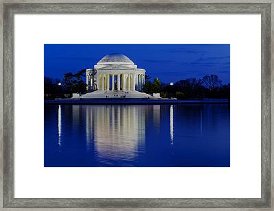 Thomas Jefferson Memorial Framed Print by Andrew Pacheco