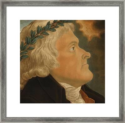 Thomas Jefferson Framed Print by Michael Sokolnicki
