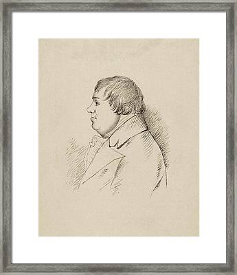 Thomas Rodd Framed Print by Middle Temple Library
