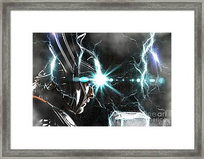 Thor Odinson Framed Print by The DigArtisT