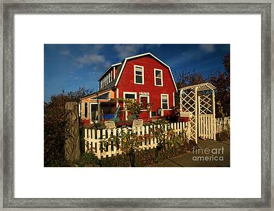 Thor Town Hostel Framed Print by Adam Jewell