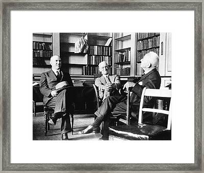 Thorndike Framed Print by National Library Of Medicine