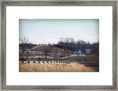 Thoroughbred Thoroughfares Framed Print by Paulette B Wright