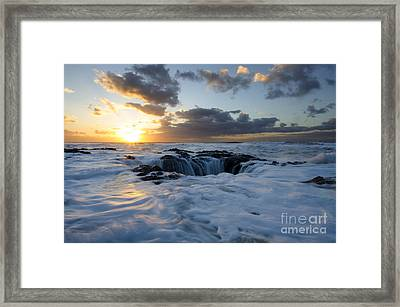 Thors Well Oregon Truly A Place Of Magic 3 Framed Print by Bob Christopher
