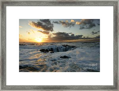 Thors Well Truly A Place Of Magic 4 Framed Print by Bob Christopher