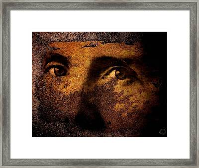 Those Eyes Framed Print by Gun Legler