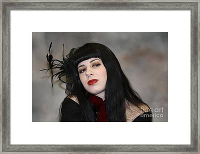 Those Lips Framed Print by John Telfer