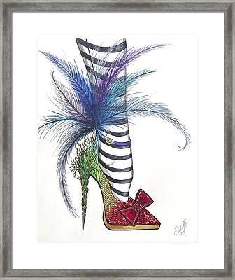 Those Shoes Framed Print by Philly Alex Johnmeyer