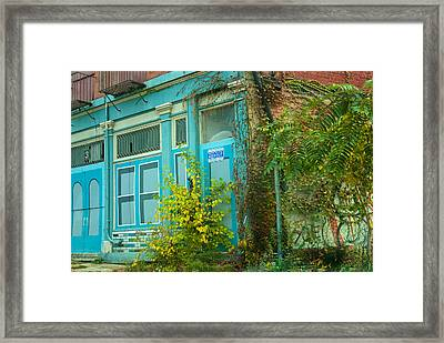 Those Were The Days Framed Print by Lena Wilhite