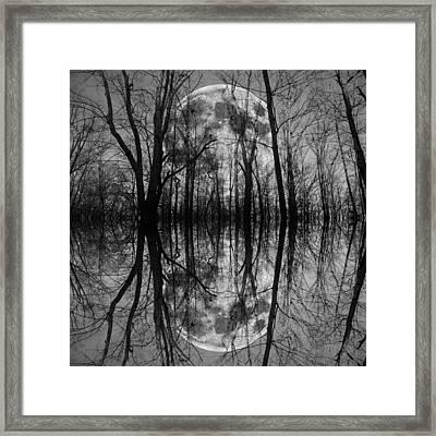 Thought Conjurer  Framed Print by Betsy Knapp