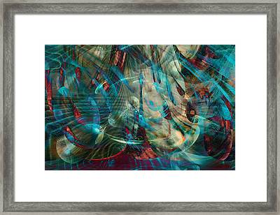 Thoughts In Motion Framed Print by Linda Sannuti