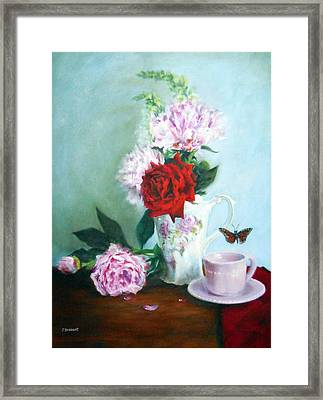 Thoughts Of Anna Framed Print by Jill Brabant