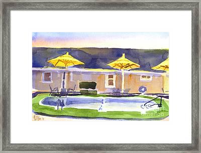Three Amigos IIib Framed Print by Kip DeVore