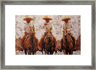Three Friends Framed Print by Jose Espinoza