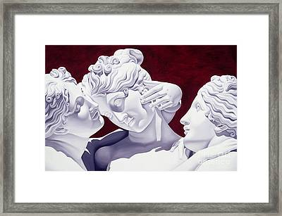 Three Graces Framed Print by Catherine Abel