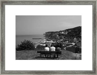 Three Is A Crowd  Framed Print by Aidan Moran