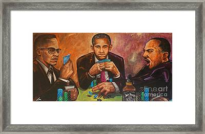 Three Kings Full House Framed Print by Charles Edwards