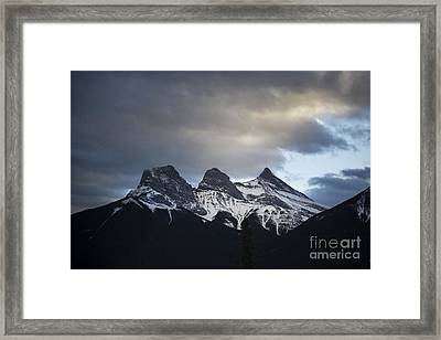 Three Sisters Framed Print by Evelina Kremsdorf