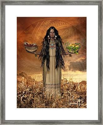 Three Sisters Framed Print by Shanina Conway