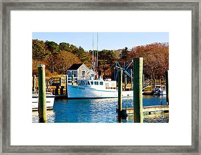 Three Sons Harwich Port Cape Cod Framed Print by Michelle Wiarda