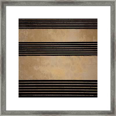 Three Steps Framed Print by Bob Orsillo