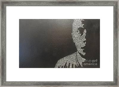 Three Thousand One Hundred Ninety-eight Impressions Framed Print by Joey  Koke