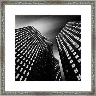 Three Towers Framed Print by Dave Bowman