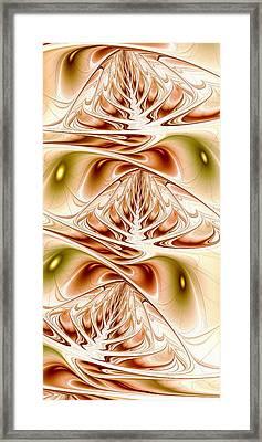 Three Trees Framed Print by Anastasiya Malakhova