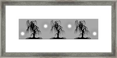 Three Trees Framed Print by Bob Orsillo