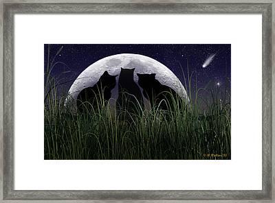 Threefold Framed Print by Brian Wallace