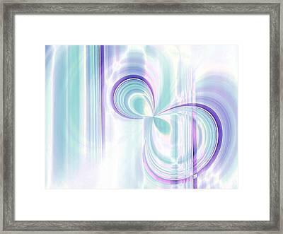 Threshold Framed Print by Tom Druin