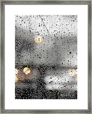 Through A Glass Darkly Framed Print by Sarah Loft