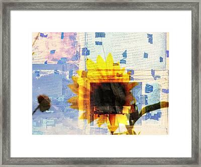 Through My Minds Eye Framed Print by Robert Ball