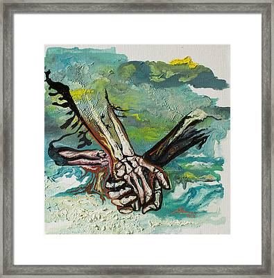 Through Storms Framed Print by Joseph Demaree