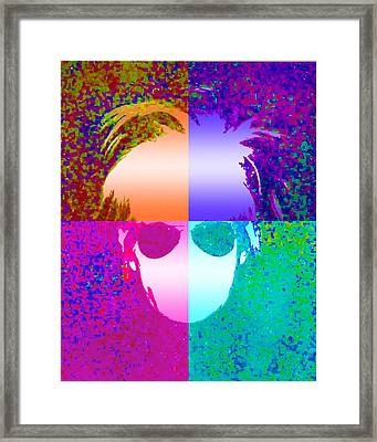 Through The Eyes Of Andy Framed Print by Jimi Bush