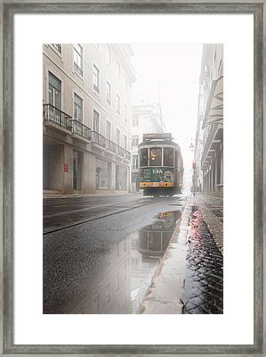 Through The Fog Framed Print by Jorge Maia