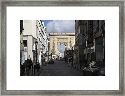 Through The Gate Framed Print by Randi Shenkman
