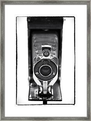 Through The Lens Framed Print by John Rizzuto