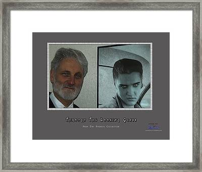 Through The Looking Glass Framed Print by Joe Paradis