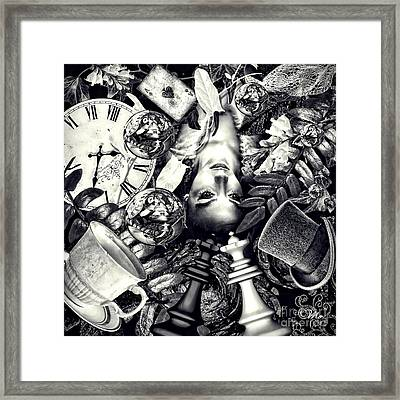 Through The Looking-glass Framed Print by Mo T