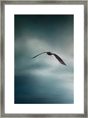 Through The Rolling Storm Framed Print by Jai Johnson
