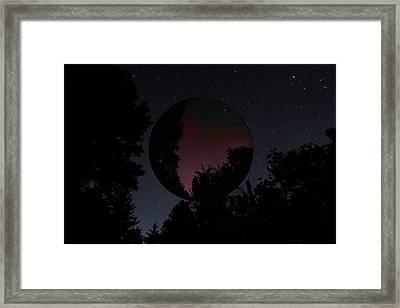 Through The Telescope Framed Print by Dan Sproul