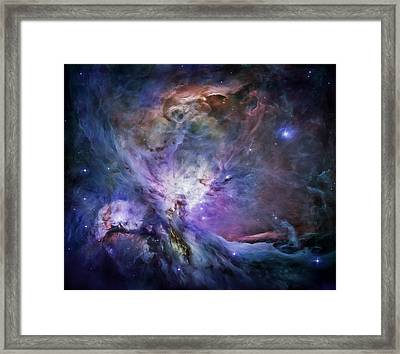 Through The Wormhole  Framed Print by Andrea Mazzocchetti