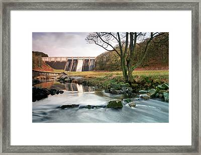 Christs Birthday Framed Print featuring the photograph Thruscross Resevoir  by Chris Frost