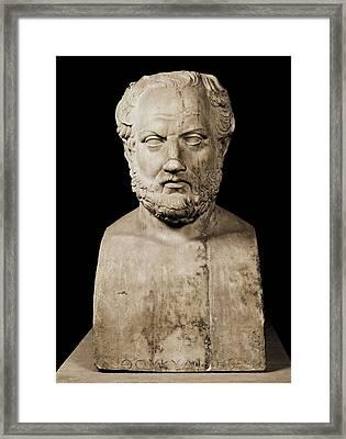 Thucydides  460 Bc, Or Earlier - Framed Print by Everett