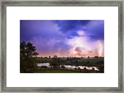 Thuderstorm Framed Print by Alexey Stiop