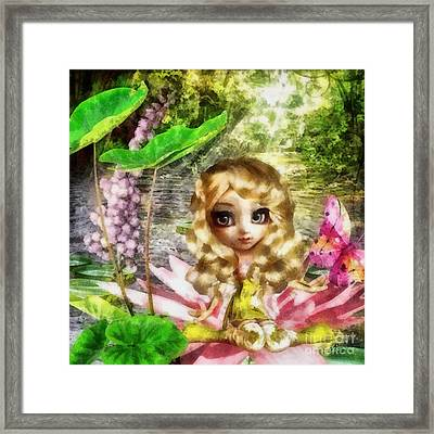 Thumbelina Framed Print by Mo T